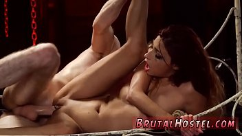 sex submission and compilation bondage Horny blonde shows off for the cam