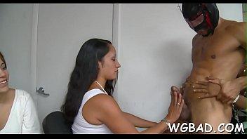 spooned stud pussy by breasty darling receive her Umemaro 3d senpai