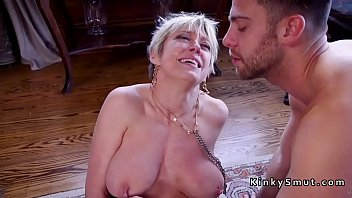 mom kay parker step as Busty anime sex bomb giving tit job gets huge facial