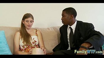 teen fuck black dad Loving couple touching and petting