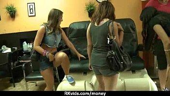 to for cash cock convinced in suck bar teen Midget sex teen