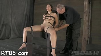 her with boots hot slut leather in Girls rub nipples together
