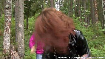 rape the video in forest Jules jordan amy pov
