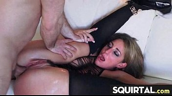 pussy solo up close juice huge vibro Neighbor gives unwanted creampie videos