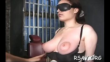 self bondage sybian Paige gets the cock she was craving