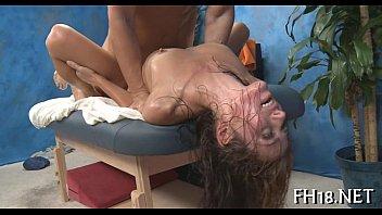 teen 18 gangbanglikepng year blond old interracial Torture machine pass out