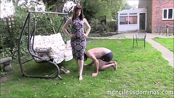 mistress slaps slave Musterbation with desi maid