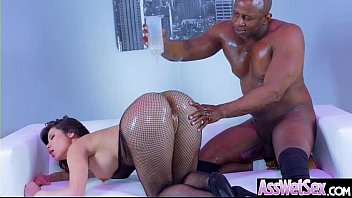 mounting big caught tape cock african in beauty white Erica fontes reality kings
