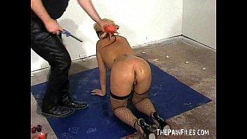 receives whip lesbian blonde the Teen rape bdsm
