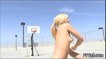 blonde dude nasty naked gets pleasure the babes to Straight video 498