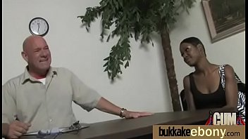 white guys woman ebony gangbang Barbara summer double decker