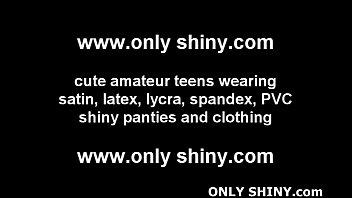 panty 90s shiny Heather hart anal
