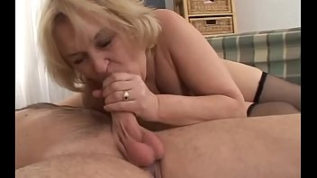 teasing old granny Indian hot and son