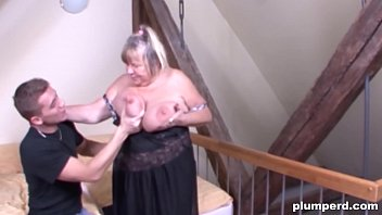 moms anal granny fat Boobs on stage