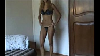 swimsuits thong sexy Sexy chick in nice stockings dancing softcore action