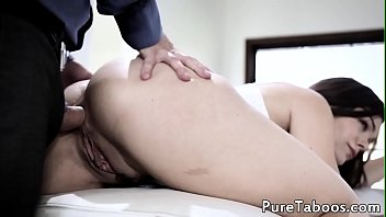 gives day all guy to tight brunette footjob ass ebony Hot honey is imbibing males white swallow hungrily