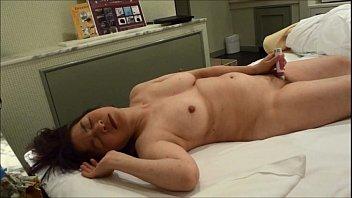 japanese sleep blowjob Milf riding young boy