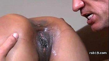 lick gets the her blonde secretly under pussy desk Brandi love and janet mason