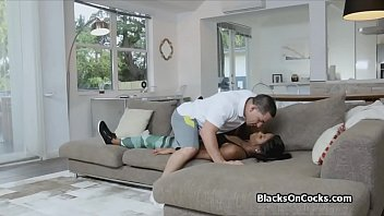 angbanged bitch men black by white Son blackmails mom incest creampie