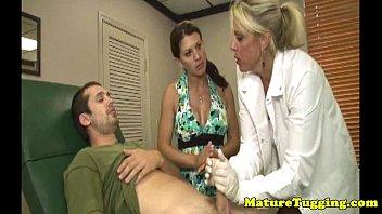 pigtails handjob cumshot nurse White pussy balck seed