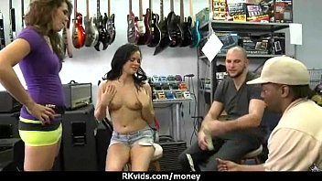 another finger husband lets man wife Leather men farting