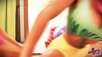 brunette webcam and busty blonde on lesbian show Maria ozawa bbc gangbang