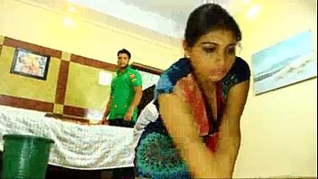 indian maid with boss servent sex Duble sided dildo