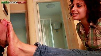 woman foot dominates Hot amazing stunning teen esther