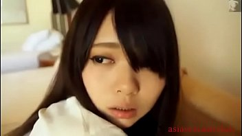 me up cum wakes he before full tube make Sapely japanese beauty