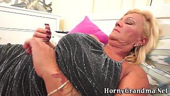 cum grandma horny Her personal porn