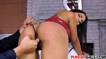 castration nikki jackson Muscle shows off ass