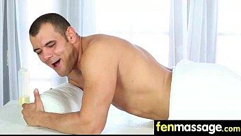 massage busty tit Secretary seduces the client7