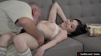 pussy slender slammed and babe in head gives her young Black threesome daughter mom