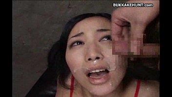 bus asian cumshot Jerking while singing
