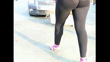 leggings in booty sex mom jiggle Black girl dickgirl