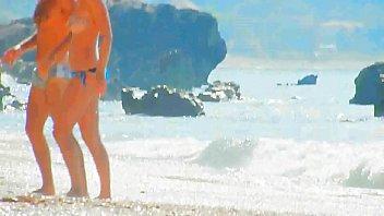 spy cemera beach asianjapan cuite Asian loves ramming