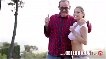 bra bounce boobs Allie haze and her step