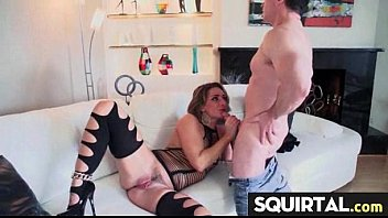 squirting young hard Wife and sitter fuck her husband