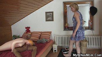 blond ponytail mom with Incest porn b