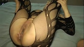 and wife old my strander young Big titted slut sucks cock in the pool