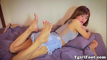heather soles fbare Crossdresser bulge in panties