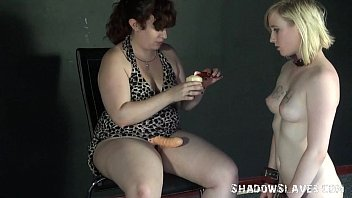 lesbian skye slave dakota Seduce sister kitchen