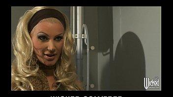 sleep assault brittany blonde angel Black stocking lick