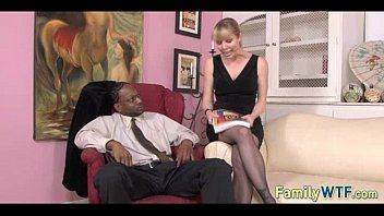 cuck black white My wife change dress infornt of another man