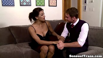 snowball male tranny shemale Cute brunette fuck sweetly