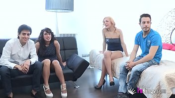 gathering party sex Lesbian taught lesson by man