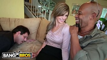 by cocks black gangbanged milf Alexis loves being scared so much it makes her