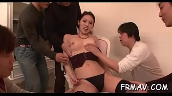 with charming her anal delights playgirl riding 3 asian lesbian threesome