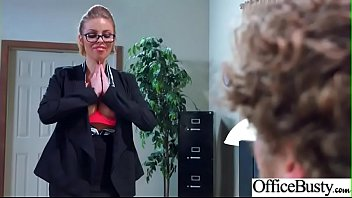fucked get clip in office busty 08 girls hardcore Japanese touching tits