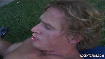 blonde her sensual rubs clit Amateur lesbian videos